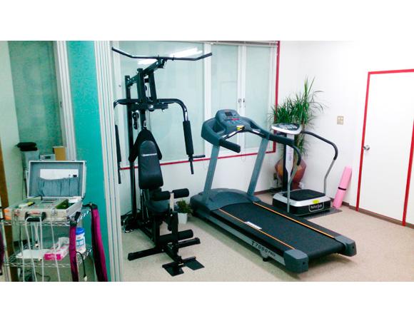 フィットネスワン堅田店のトレーニングマシン